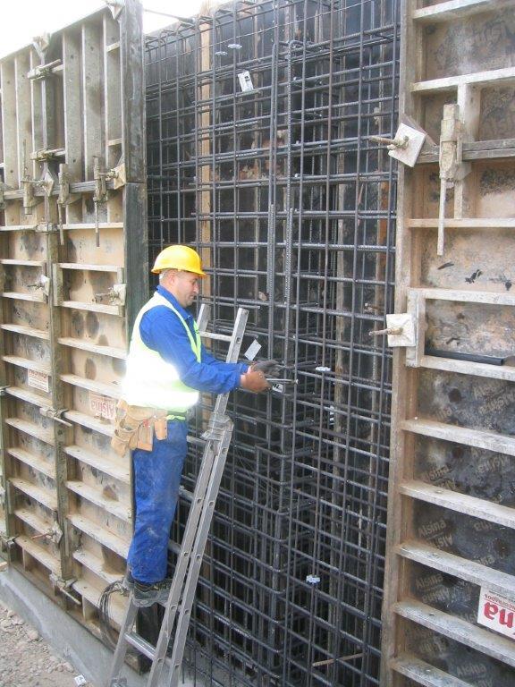 Construcción de Depósito de Hormigón